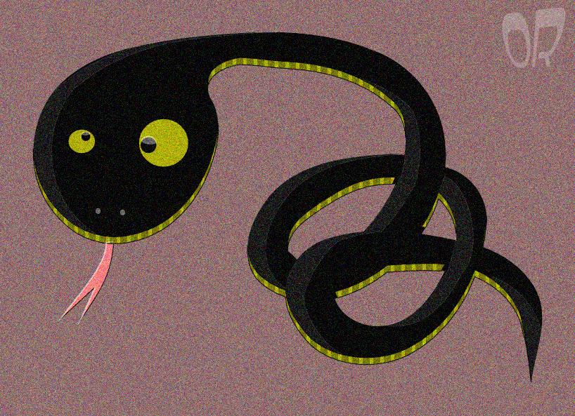 змия илюстрация