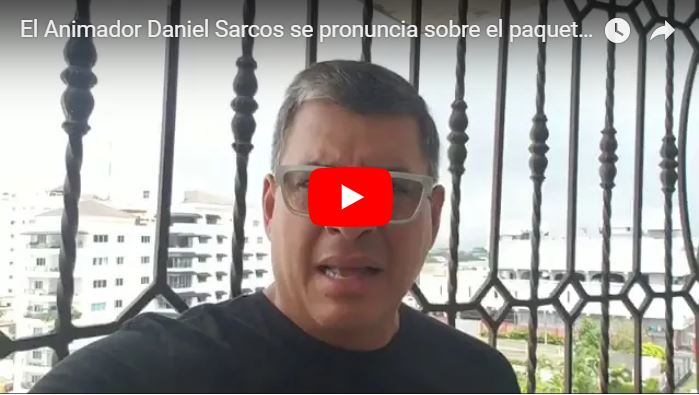 Daniel Sarcos habla sobre le paquetzo de Maduro