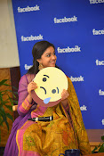 keerthi suresh at facebook office-thumbnail-8