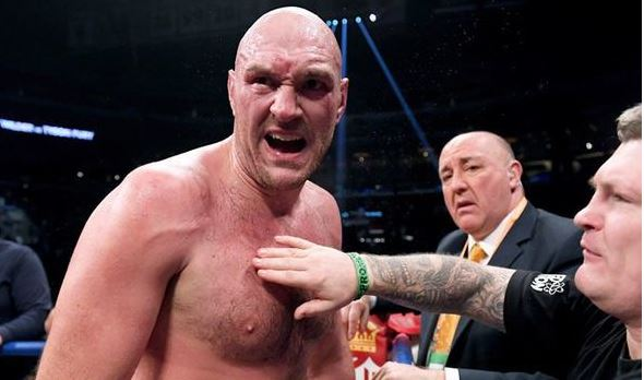 Tyson Fury given clear advice over possible Deontay Wilder rematch