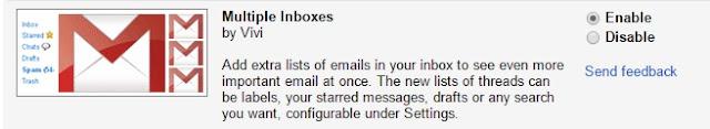 enable multiple gmail inbox