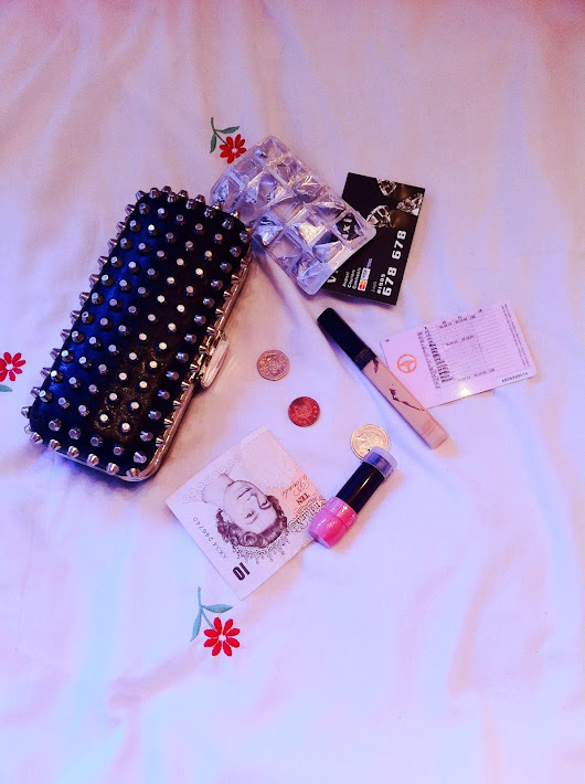 What is in my night out clutch?