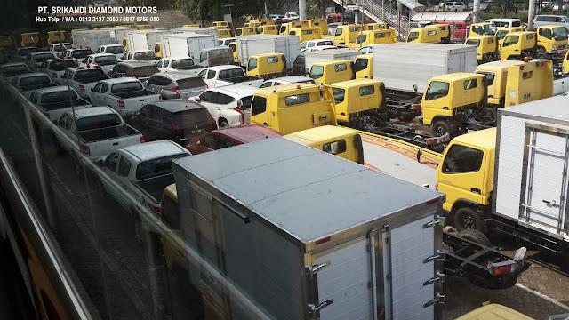 kredit dp ringan colt diesel - box - bak - tangki - dump truck - mixer - 2019