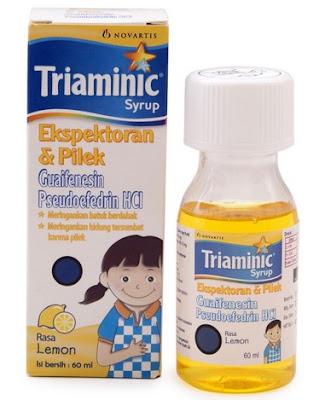 Harga Triaminic Obat Batuk Pilek Terbaru 2017