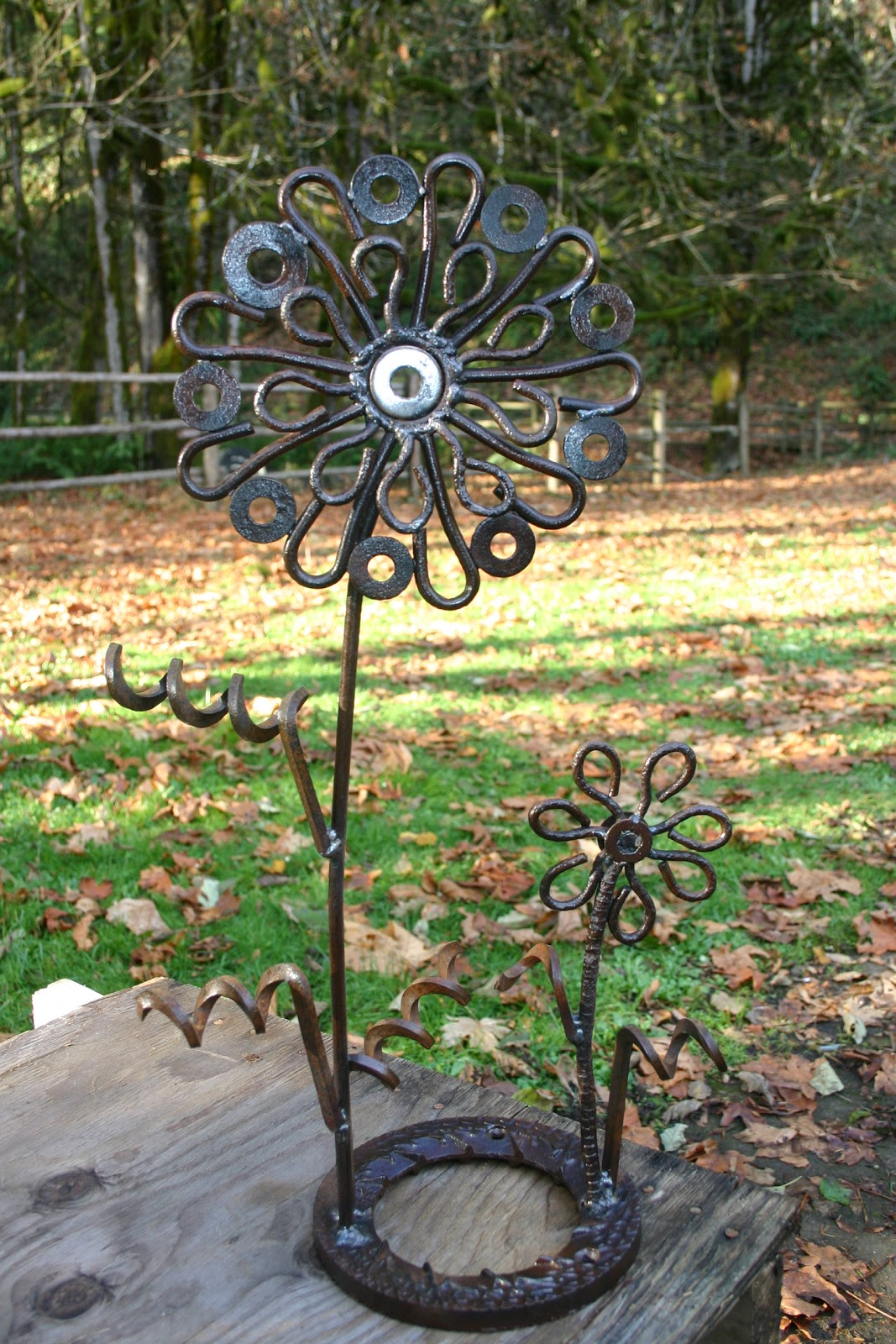 Art For The Garden: Kathi's Garden Art Rust-n-Stuff: Also Showing At The