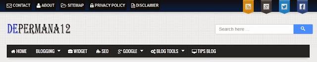 Review Depermana12 Web Tutor Blog