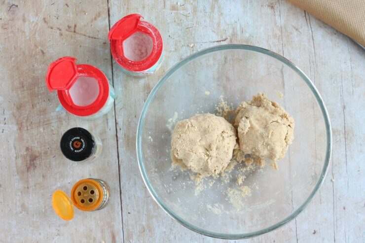 Cornish Fairings Biscuit Dough