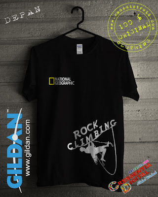 Baju Kaos National Geographic Rock Climbing