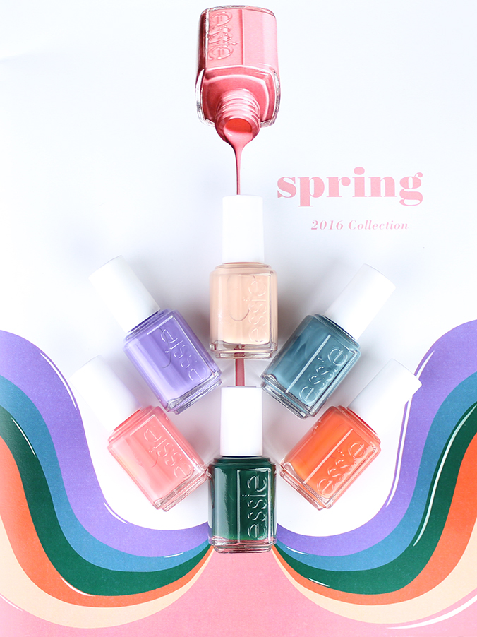 Stylish Spring 2016 Nail Collection: Essie \