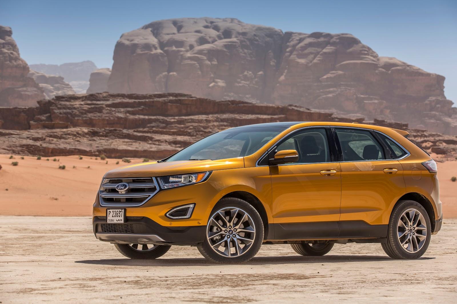 Ford Europe Go Further In Arabia