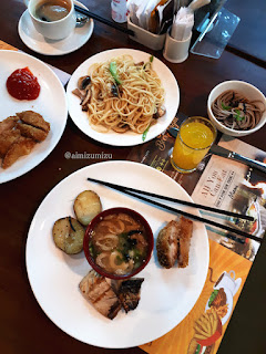 Menu Breakfast Delonix Hotel