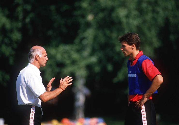 Arrigo Sacchi și Marco van Basten