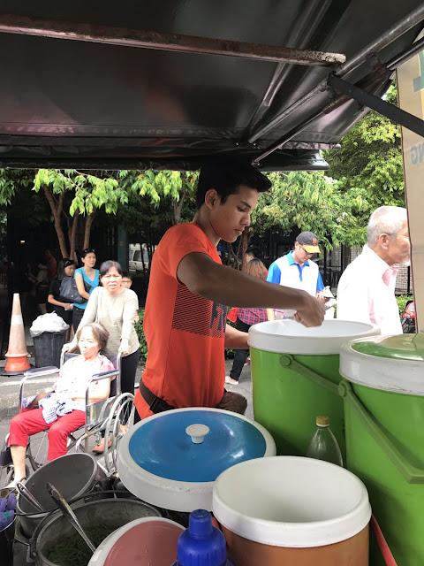 penjual es cendol