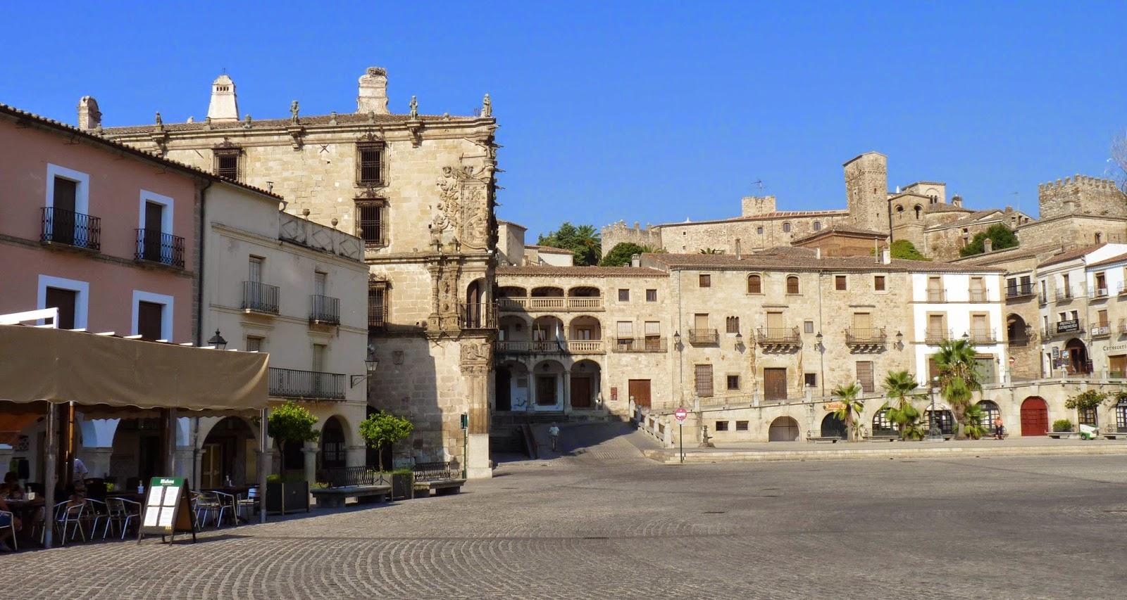 Plaza Mayor de Trujillo.