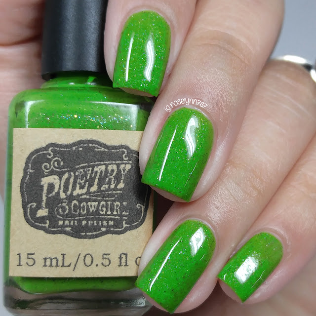 Poetry Cowgirl Nail Polish - St. Augustine Grass