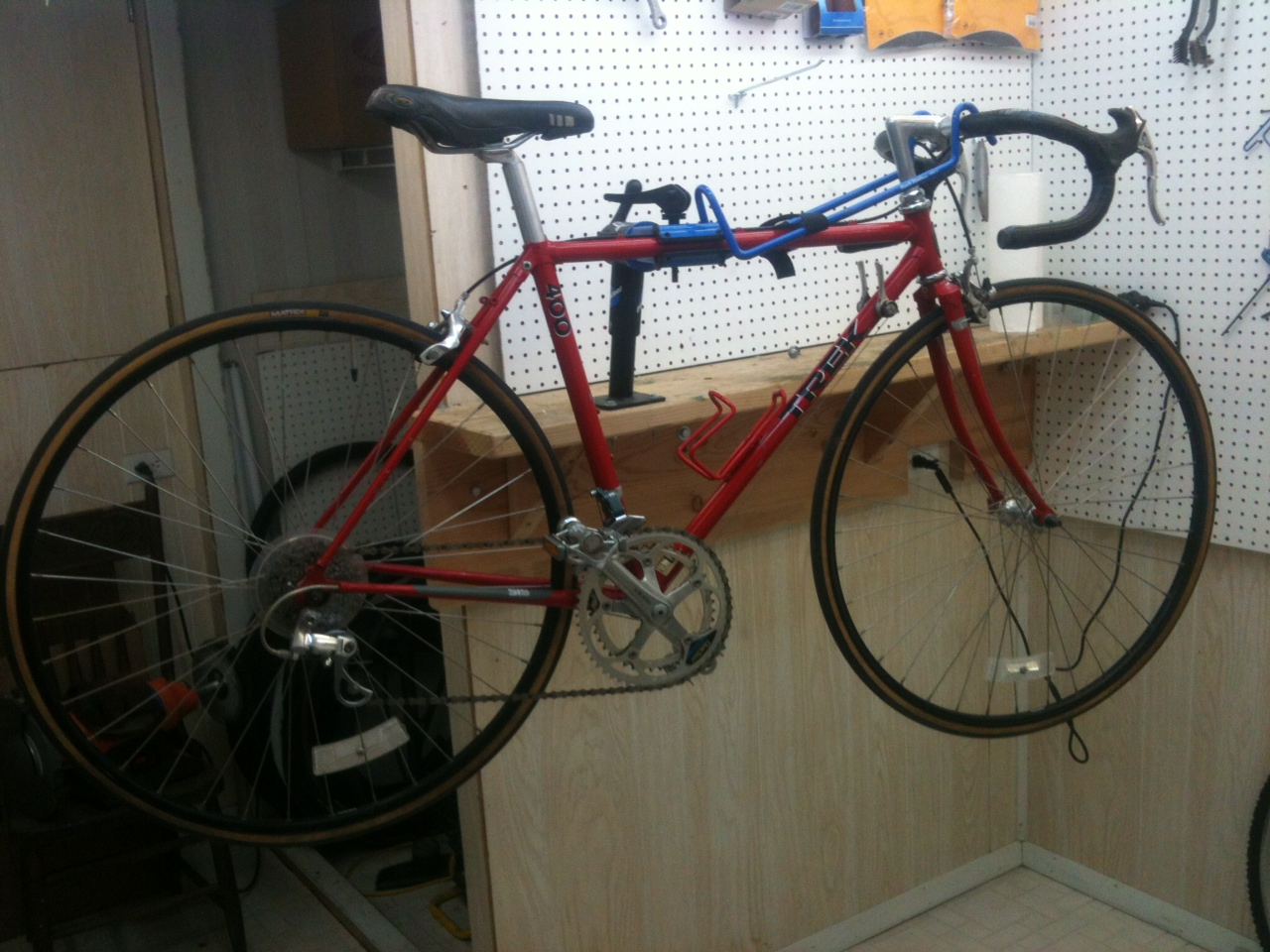 John's Bicycle Restorations: Trek 400 Restored and Updated - Size