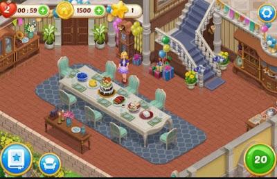 Screenshot Matchington Mansion Mod Apk