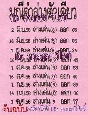 thai lottery 100 % sure single digit 01 10 2015 thai lottery 100 %