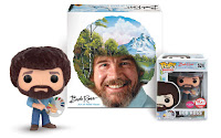 Bob Ross Art of Chill Game and Funko POP! Bundle
