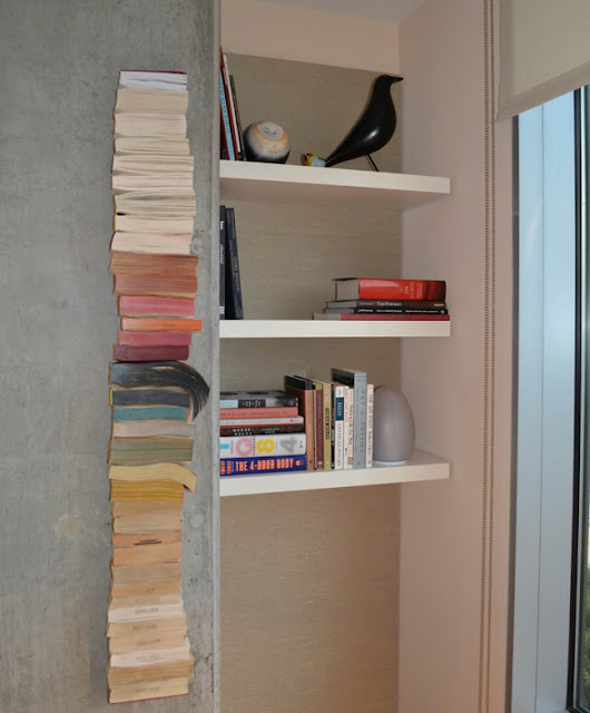 Dwell Labs-Darra Bishop book shelves as seen on  Cozy•Stylish•Chic