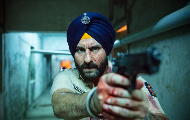 Saif Ali Khan as Sartaj Singh in Sacred Games