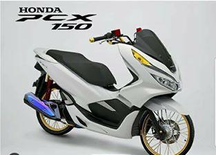 Modifikasi Honda Pcx Lokal Menggunakan Velg Jari Jari Thailook