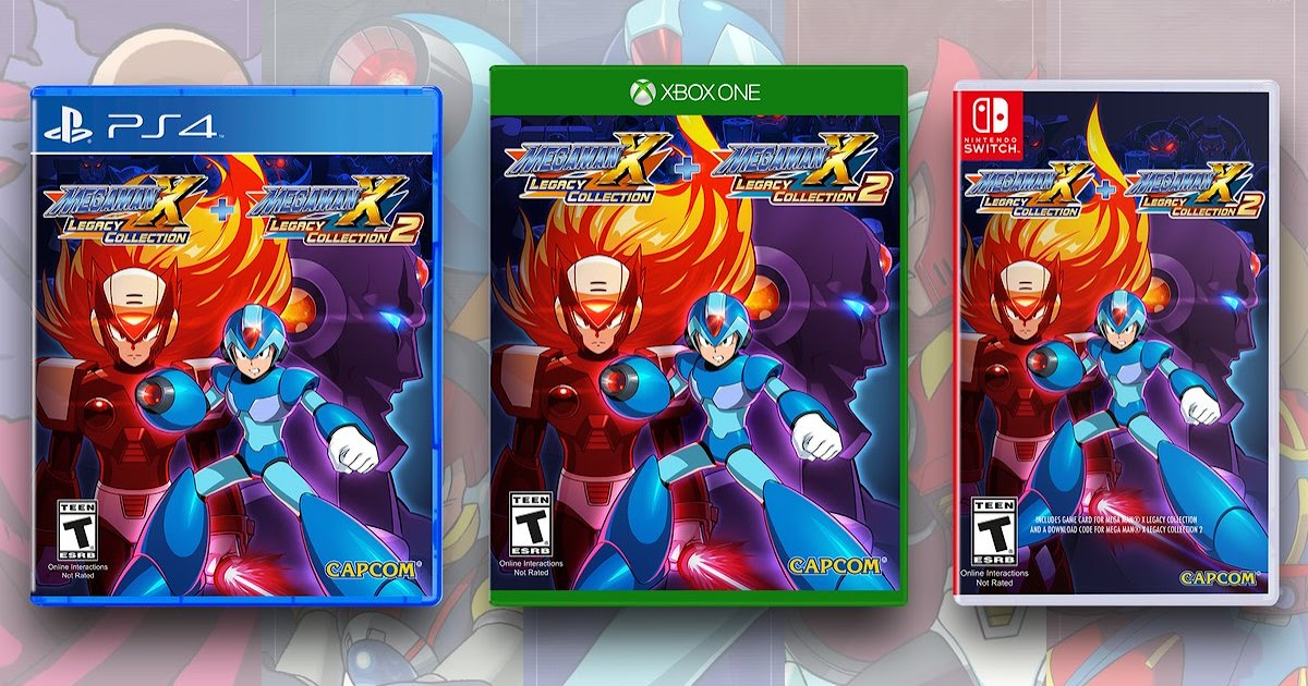 Rockman Corner: Mega Man X Legacy Collection 1+2 Pre