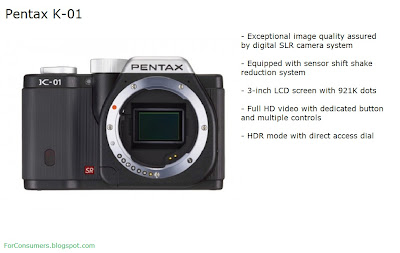 Pentax K-01 black