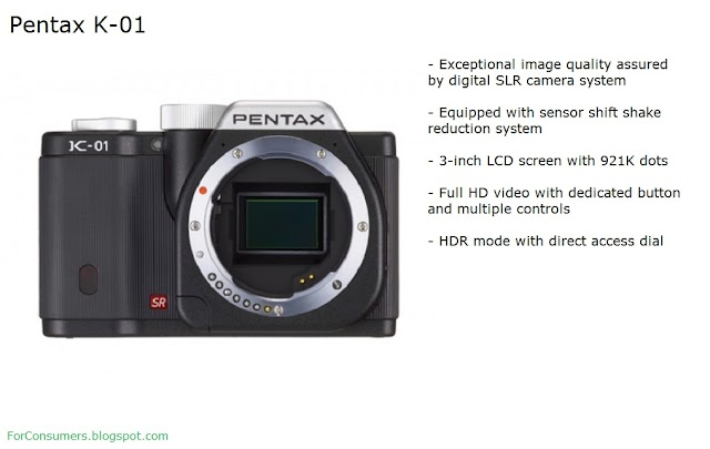 Pentax K-01 digital camera review