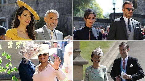 Best Dressed Guests At Prince Harry And Meghan Markle Royal Wedding