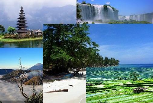 Gambar pesona keindahan alam indonesia tercinta yang megah