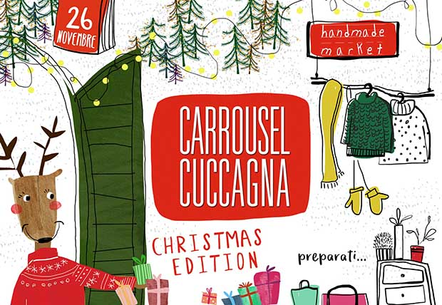 Locandina Carrousel Cuccagna Natale