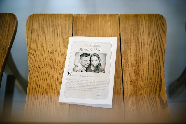 gazetka ślubna, upominek dla gości, pamiątk aślubna