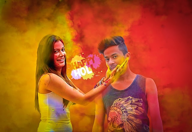 Holi Special   Editing Backgrounds