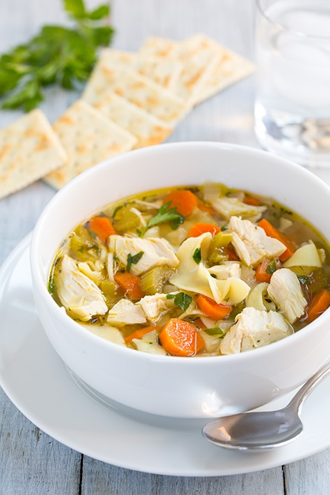 The Best Slow Cooker Chicken Noodle Soup Recipe