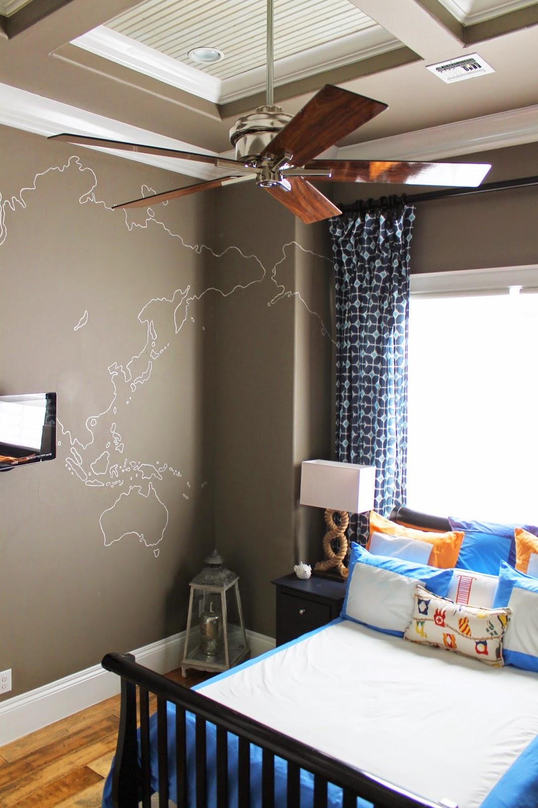 Boys Room: The Ragged Wren : Nautical Boys Room