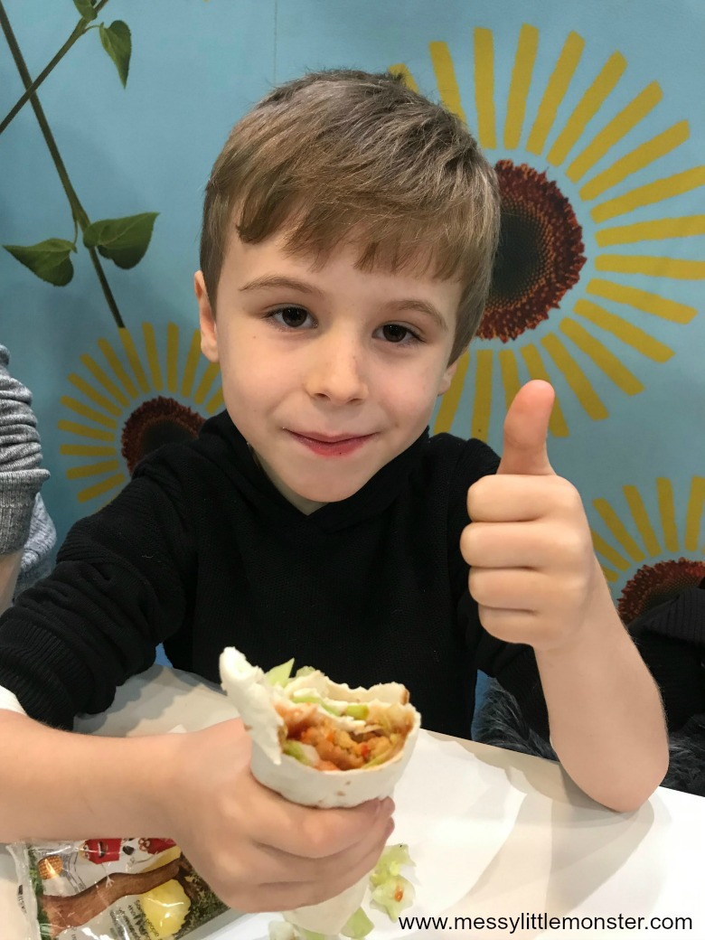 New McDonald'sveggie happy meal review