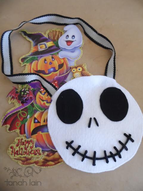 Bolsa para dulces de Halloween