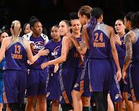 BALONCESTO (WNBA Playoffs 2016) - Phoenix Mercury supera una eliminatoria más y se planta en semifinales ante las Minnesota Lynx