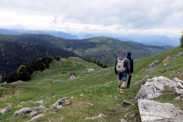 alta via degli eroi monte grappa escursione