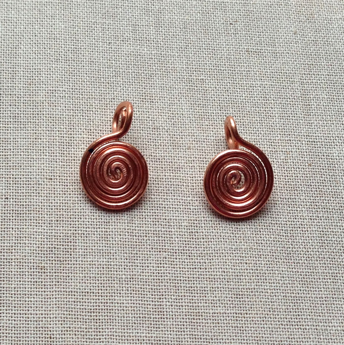 Spiral jewelry charms - Lisa Yang's Jewelry Blog