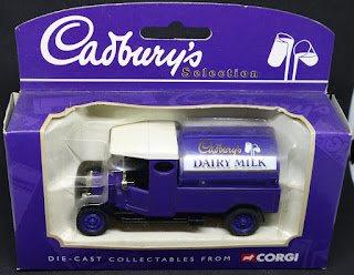 Cadbury lorry