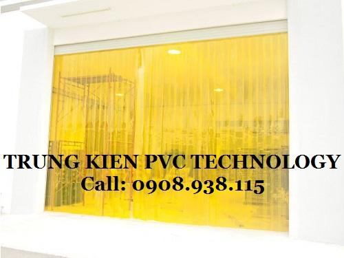 Màn nhựa PVC ngăn côn trùng Nhà máy REBISCO