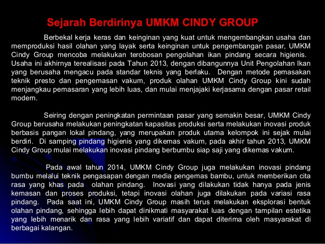 Cindy Group Gudang Perikanan
