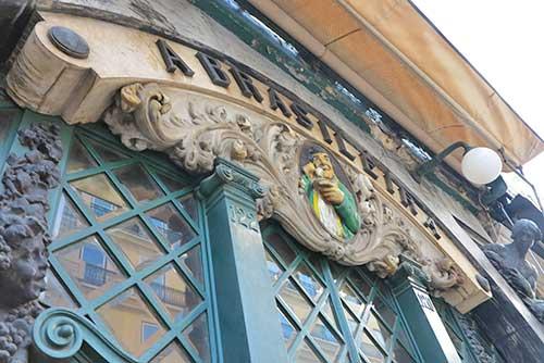 Café A Brasileira, Lisbon, Portugal.