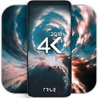 4K Wallpapers تغيير وتبديل خلفيات هاتف الاندرويد والتابلت بخلفيات ثابتة وخلفيات متحركه فائقة الدقه UHD - FHD بدون اعلانات