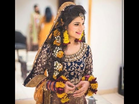 Mehndi Hairstyles For Brides : Bridal kashee s mehndi day hairstyles in pakistan sari info