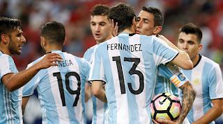 موعد مباراة الارجنتين والاكوادور