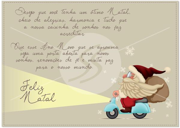 Cartão de Natal para Empresas