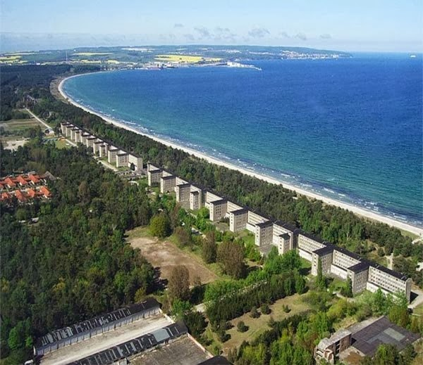 The world biggest hotel - Hotel Prora